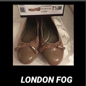 Shoes - 🦋London Fog Bow Tassel Ballet Flat